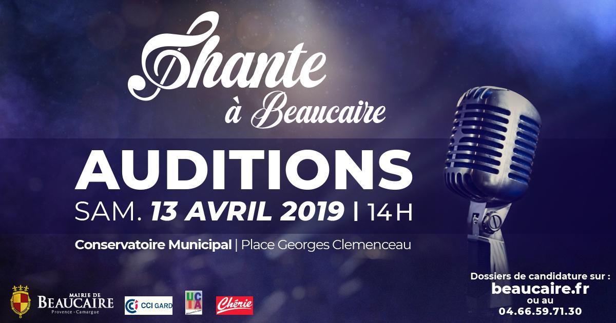 Chante à Beaucaire